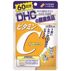 DHC Vitamin C натуральный витамин С, курс 60 дней