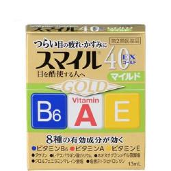 Lion Smile 40 EX Gold Mint японские глазные капли