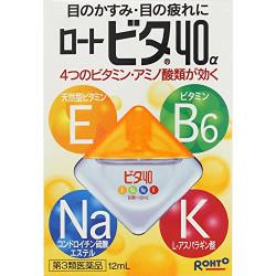 Rohto 40a Vita японские капли для глаз